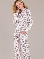 Пижама (кофта+брюки) 162885-633 Roses Taubert