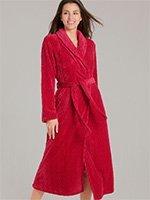 Женский длинный халат из микрофибры 162895-114 Bergen Taubert