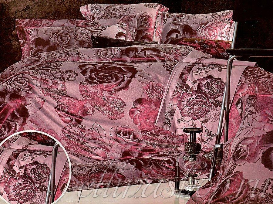 JC-019 Rene комплект жаккардового белья с вышивкой Afrodita