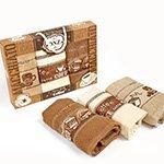 Комплект вафельных полотенец (30x50 3шт.) Хлеб Nilteks