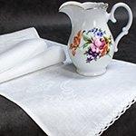 Полотенце-рушник льняное 10с461 Марго Elin