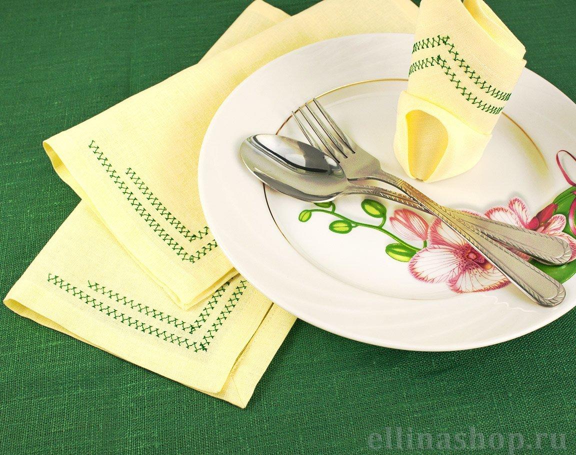 Сервировка стола бумажные салфетки пошаговый