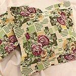 Комплект гобеленовых наволочек 40x40 Виктория Розы (2шт) Elin