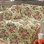 Гобеленовое покрывало (дивандек) на кресло Виктория Розы Elin