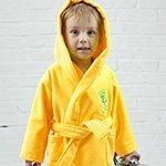 Детский желтый халат Baby из бамбука Five Wien