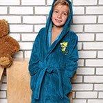 Детский бамбуковый халат Baby морск. волны V2 Five Wien