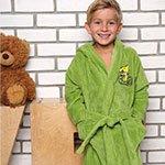 Детский бамбуковый халат Baby салатовый V2 Five Wien