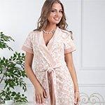 Marta - бамбуковый велюровый халат FW
