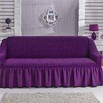 1796 Bulsan фиолетовый чехол для дивана Karna