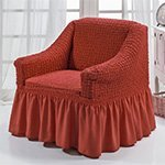 1797 Bulsan терракотовый чехол для кресла Karna