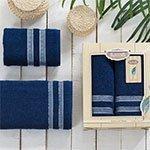 Комплект махровых полотенец Petek (50x90+70x140) Karna