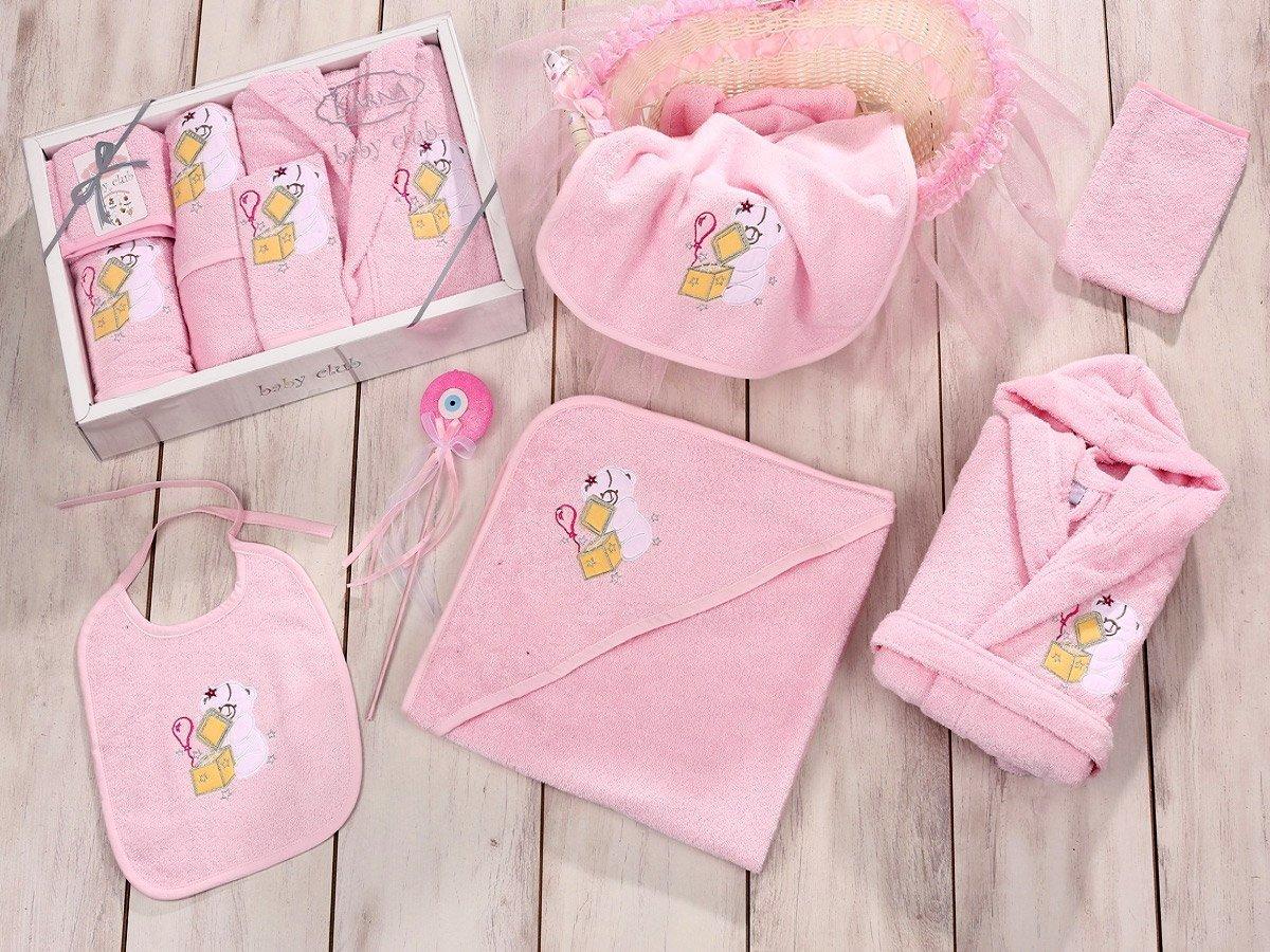 Baby club розовый - набор 5 предметов от 1-3 лет Karna
