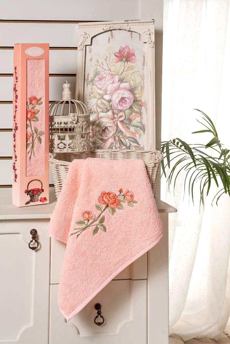 Nora - полотенце махровое в упаковке Karna