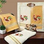Комплект махровых полотенец (40x60 2шт) Rapina Karna