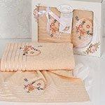 Комплект махровых полотенец (50x90+70x140) Camille Karna