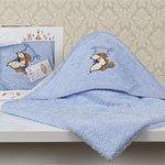 Детское полотенце-конверт Bambino Teddy 2140 Karna