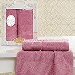 Комплект махровых полотенец Lauren (50x90+70x140) Karna