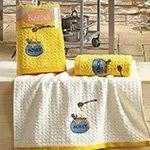 Комплект полотенец Lemon желтый V3 2шт (45x65) Karna