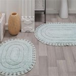 Набор ковриков с кружевом Yana 5026 Modalin