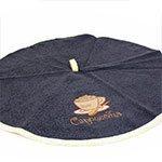 Полотенце-салфетка круглая, махровая (50 см) 1 шт Zelina V11 Karna