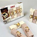 Комплект вафельных полотенец 6шт. Asil pinar V5 Karna