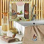 Комплект махровых полотенец (30x50) 3шт Bred Karna