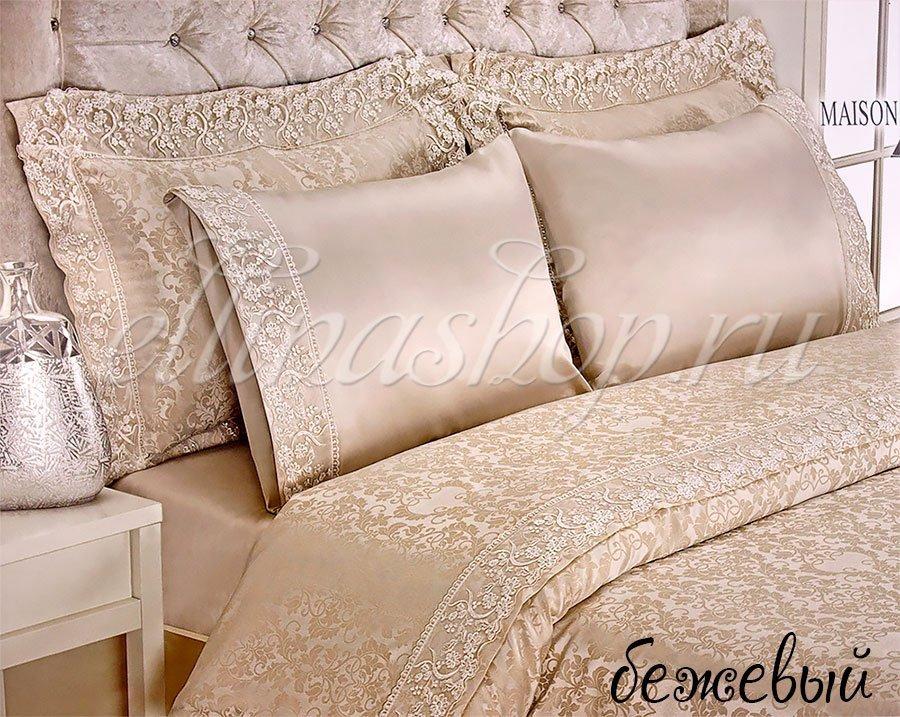 Gupurlu бежевый постельное белье Maison Dor