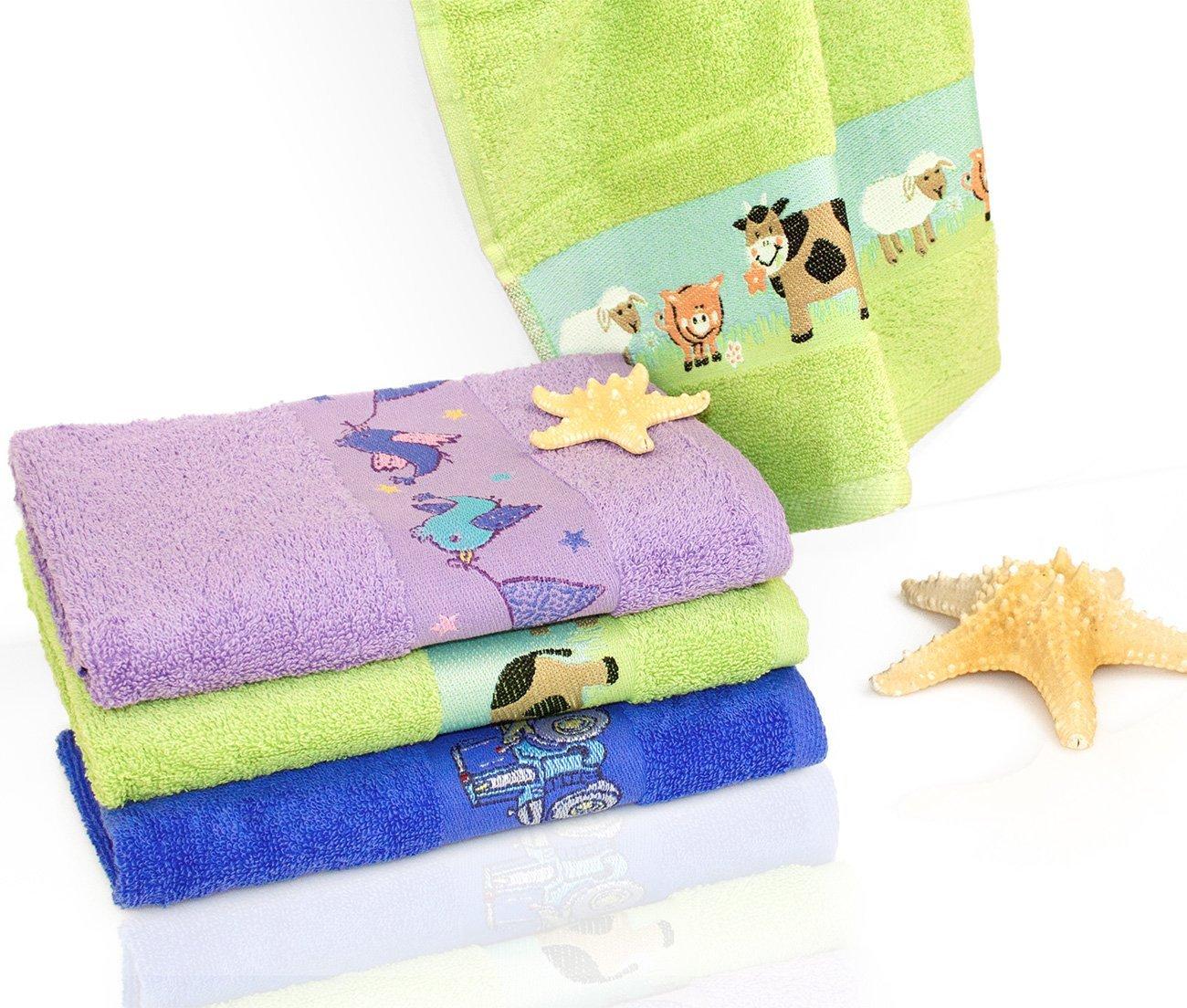 Комплект махровых полотенец Kids towel 2шт Maison dor