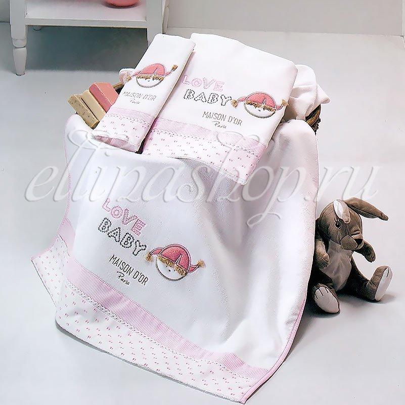 Love baby Девочка комплект детских полотенец