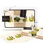 Комплект вафельных полотенец (45x70 3шт) Olive Maison dor