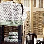 Комплект полотенец (30x50, 50x90, 70x140) Teodora La villa