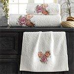 Комплект полотенец (30x50, 50x100, 70x140) Three roses La villa