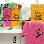 Комплект вафельных полотенец (40x60 2шт) Merzuka