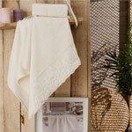 Комплект бамбуковых полотенец (50x90+70x140) Calina