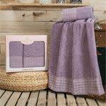 Комплект махровых полотенец (50x90+70x140) Dantela