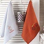 Комплект вафельных полотенец Paris (40x60 2шт) Merzuka