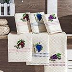 Комплект вафельных полотенец Grape (40x60 2шт) Merzuka