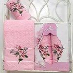 Комплект полотенец Sakura garden (50x80+70x130) Merzuka