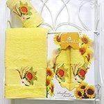 Комплект полотенец Sunfloweer (50x80+70x130) Merzuka