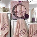 Комплект махровых полотенец (50x90 (2шт), 70х140) Romantic Styles Two Dolphins