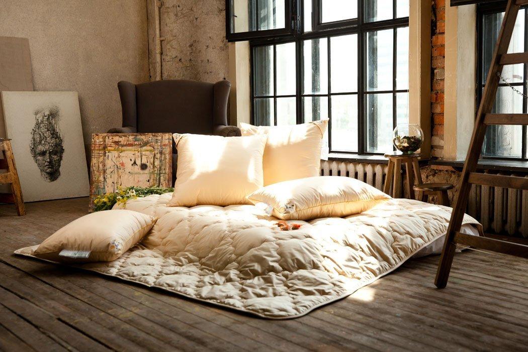 Цветочное разнотравье бамбуковые подушки и одеяла
