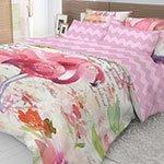 Постельное белье из ранфорса Flamingo Волшебная ночь