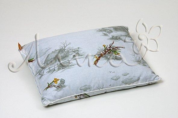 Ортопедическая подушка из лузги гречихи для сна Лика