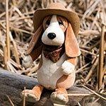 Мягкая игрушка 7018 Бассет Билли Orange