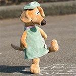 Мягкая игрушка 7646 Собака Жужа Orange