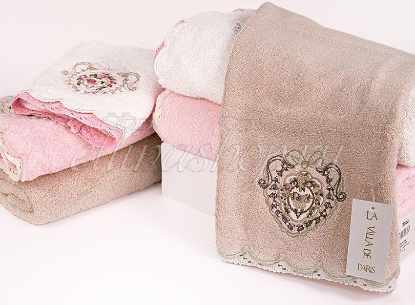Alice Комплект махровых полотенец 3 шт La Villa