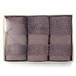 Комплект полотенец (32x50 3шт) Delux Soft cotton