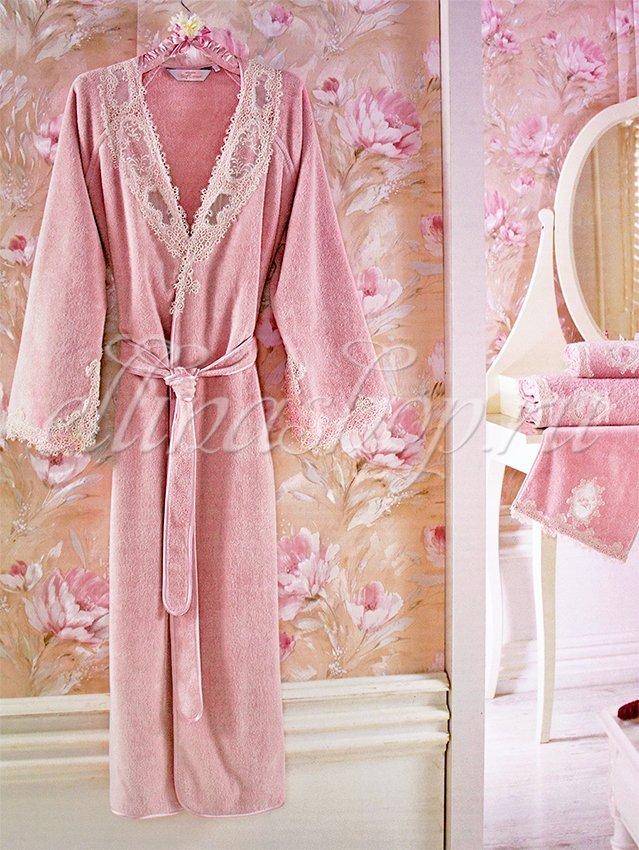 Destan длинный махровый халат Soft cotton