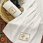 Комплект махровых полотенец Fishing cat 2 кремовый La villa