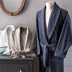 Мужской махровый халат Iris bamboo Soft